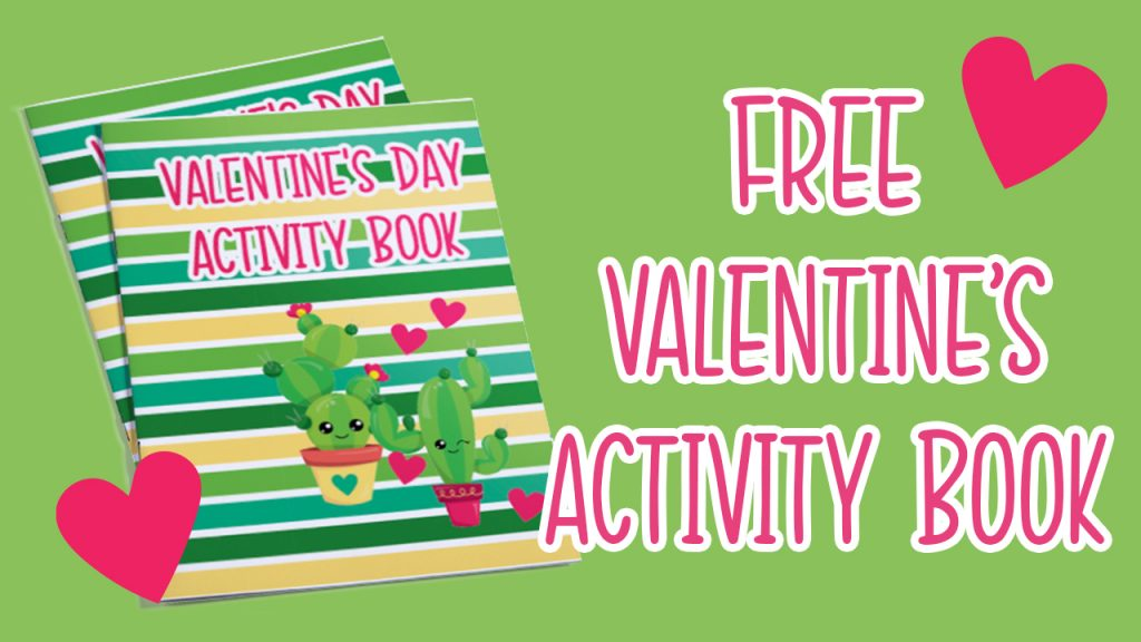 VALENTINES DAY ACTIVITY BOOK PRINTABLE TEMPLATE