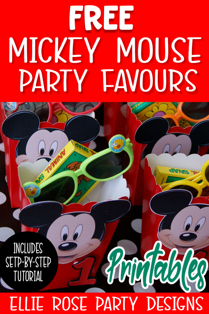 FREE MICKEY MOUSE CLUBHOUSE PARTY FAVOUR FAVOR PRINTABLES TO DOWNLOAD AND PRINT AT HOME