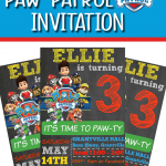 FREE PAW PATROL PARTY INVITATION TEMPLATE FREE TO DOWNLOAD