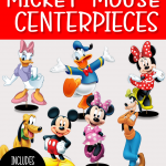 FREE MICKEY MOUSE CENTERPIECE TABLE DECORATION PRINTABLES