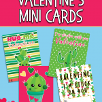 FREE MINI VALENTINE DAY CARDS FOR KIDS