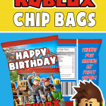 FREE ROBLOX CHIP BAG PARTY FAVOR